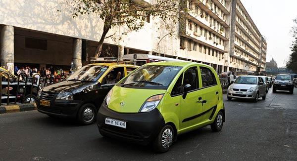 An-Indian-Tata-Nano-car