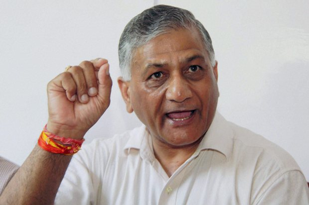 VK Singh, Minister of State for External Affairs