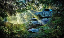 You Must See These Stunning Images Of 'Car Graveyards'!! Rust In Peace..!