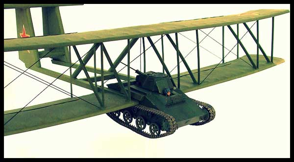 Flying tank a concept that was pursued by both the americans and