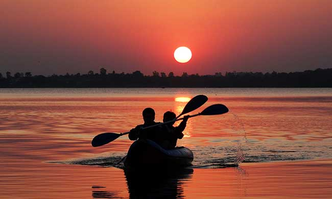 Kayaking in bhopal