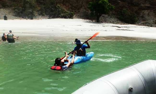 Kayaking in shivpuri