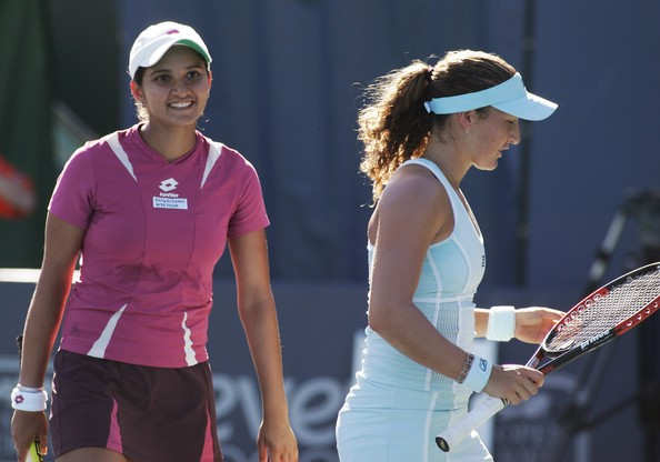 False reports of Sania Mirza not teaming up with Shahar Pe'er on basis of religion raked up controversy