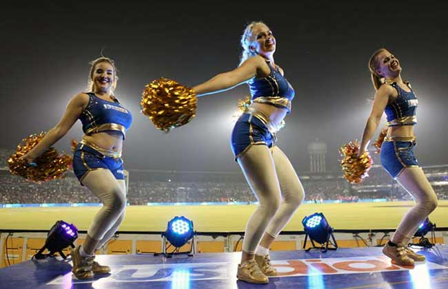 The Mumbai Indians cheerleaders will welcome you to the Wankhede Stadium in style