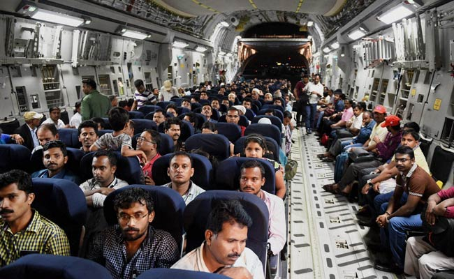 Indians rescued Air Force C-17 Globemaster
