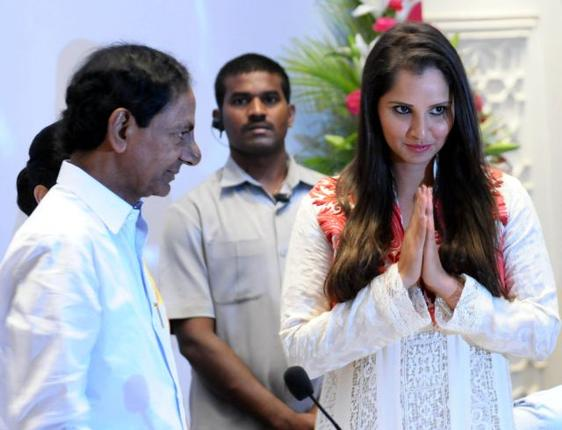 When appointed the brand ambassador of Telangana, Sania Mirza was labelled as Pakistan's daughter-in-law