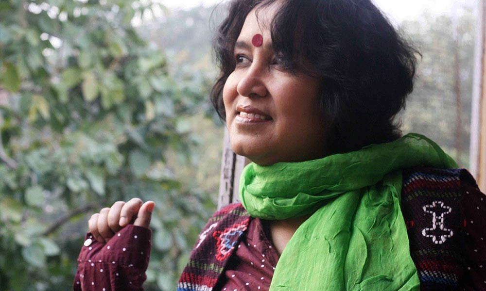 taslima nasreen Bangladeshi author taslima nasreen was sent back from the airport in  aurangabad to mumbai after protests by a group of people against her.