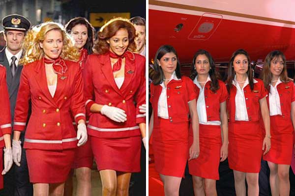 Virgin Crew - Kingfisher Crew