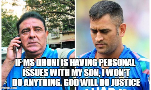 Yograj Singh's outburst was more targeted towards MS Dhoni