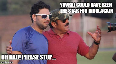 Yuvraj was in top form during the Ranji Trophy
