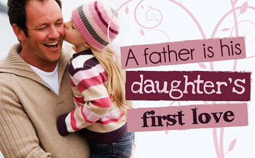 And father s love their daughters
