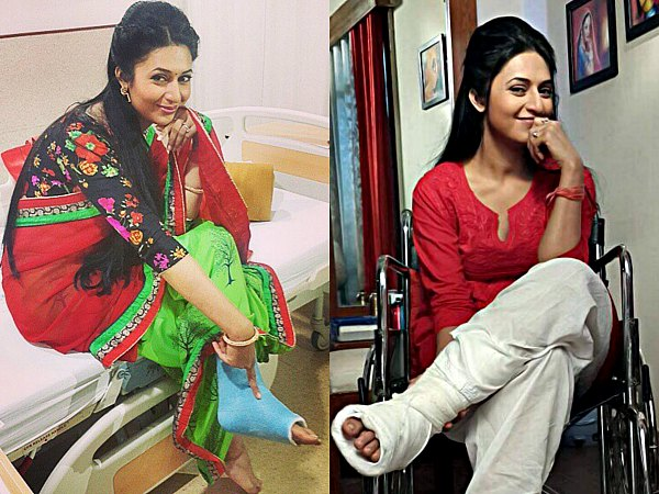 Divyanka-Injured