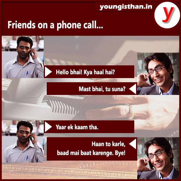 Friends on a Phone Call