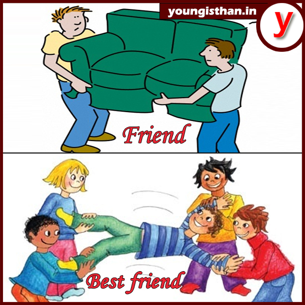 The difference between friends & best friends