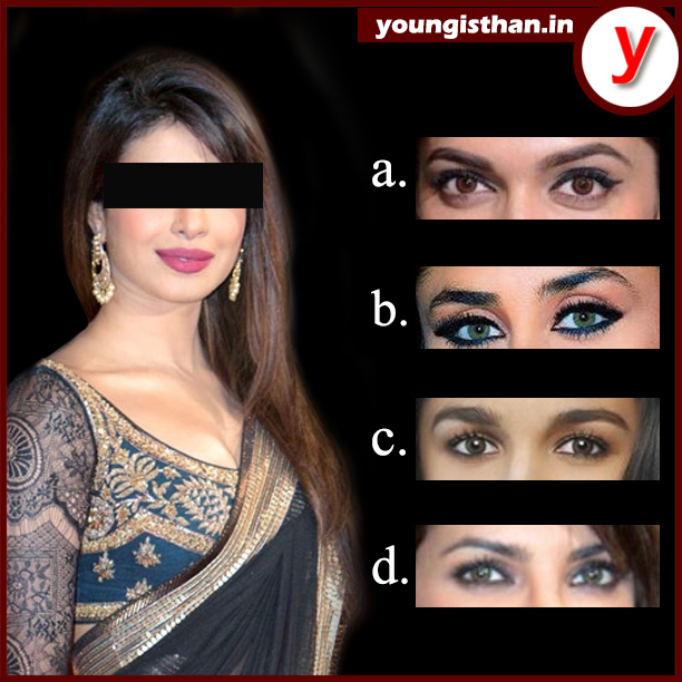 Guess the eyes of Priyanka Chopra