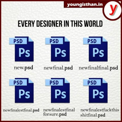 Every designers will agree to this
