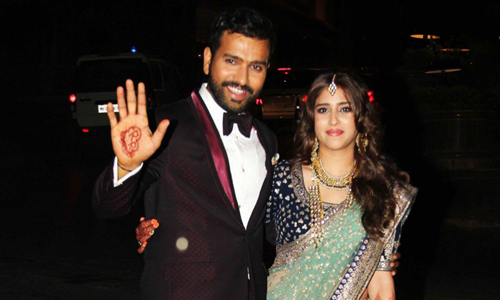 rohit sharma wedding