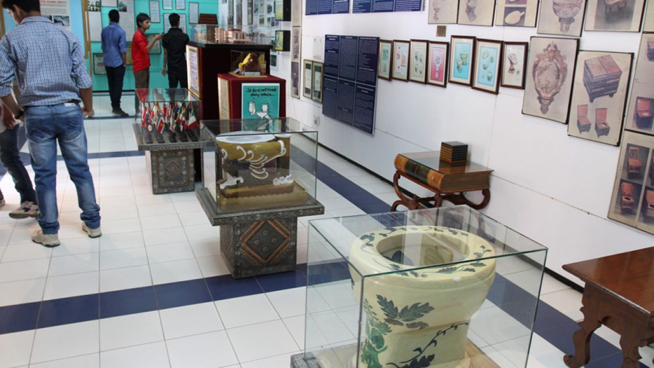 Did You Know That There's An International Museum of Toilets In India