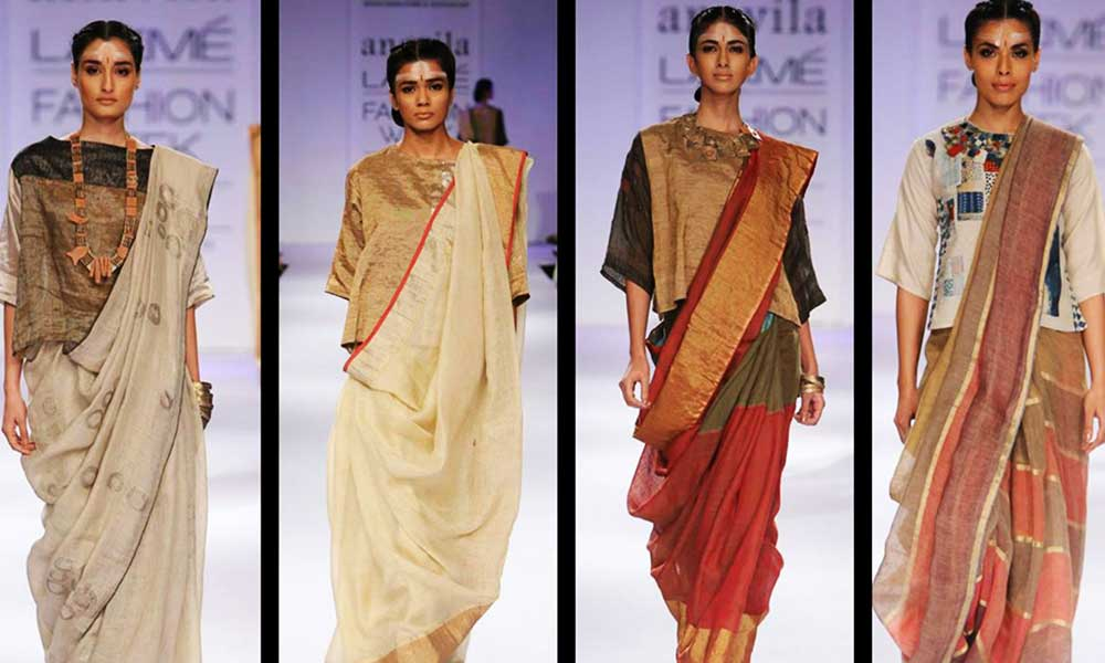 unique sarees