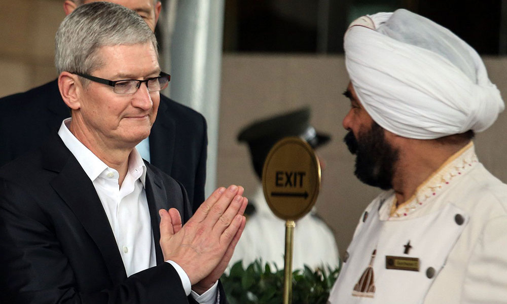 Tim Cook In India