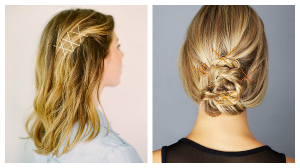 Bobby Pins criss CRoss 1