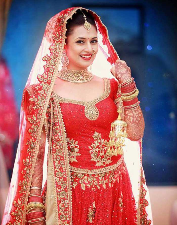 Television actresses who looked gorgeous as brides
