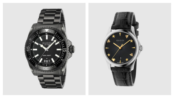 Designer watches for mens Gucci