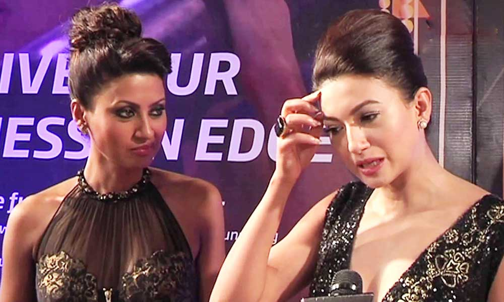 Gauhar Khan and Nigar Khan