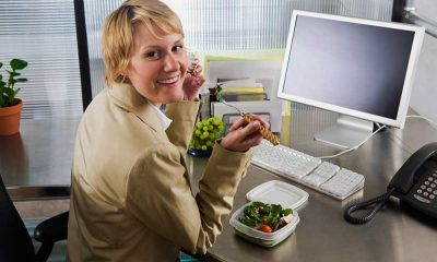 Ways to keep yourself healthy when you are at work