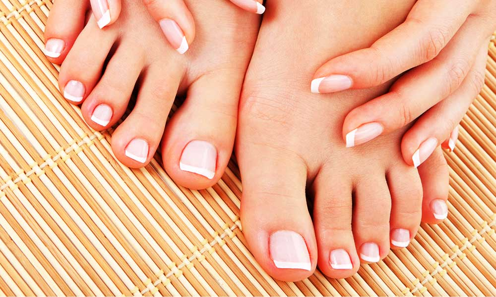 keep your toe nails pretty