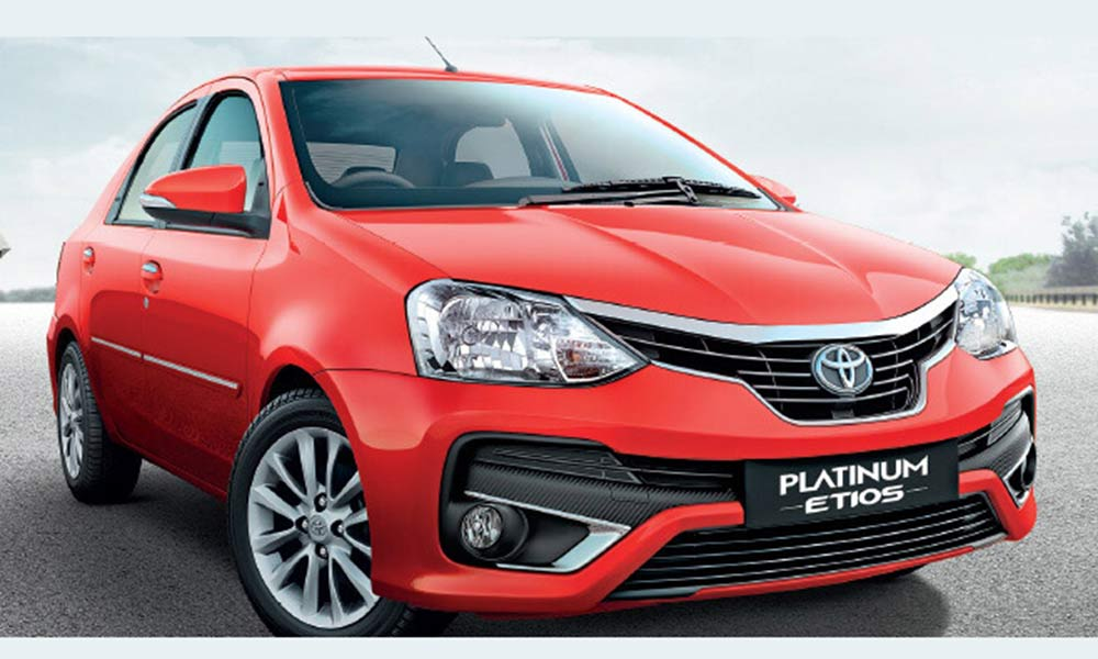 New Platinum Etios