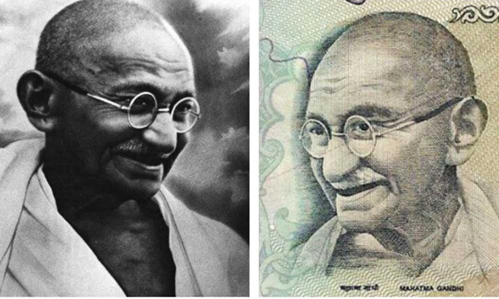 Gandhiji's Face On India's Currency Notes