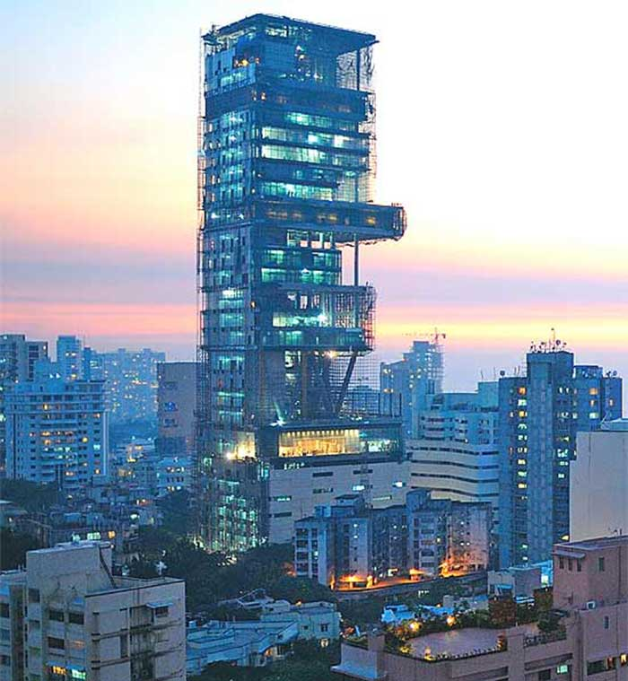 Most Expensive House Of India