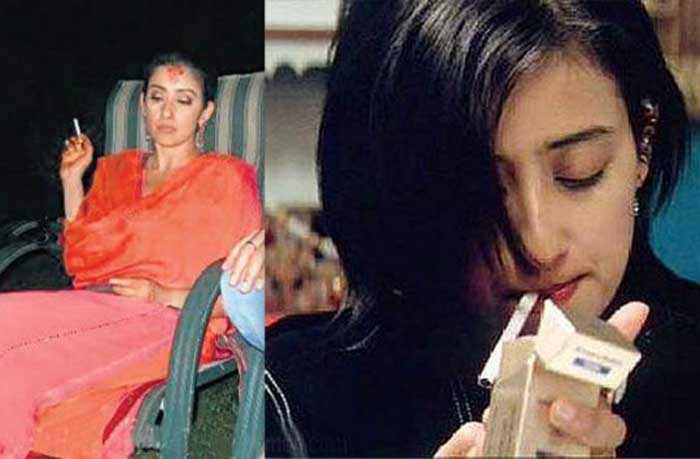 Bollywood actresses who smoke