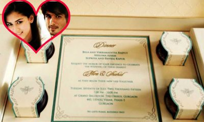 Wedding Cards Of Bollywood