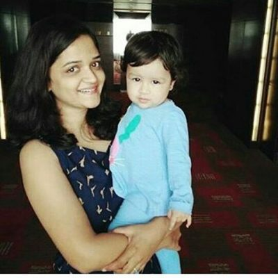 11. Guess who? Well, that's Ajinkya Rahane's wife (Look at Ziva's little smile) 12. Cute, isn't it?
