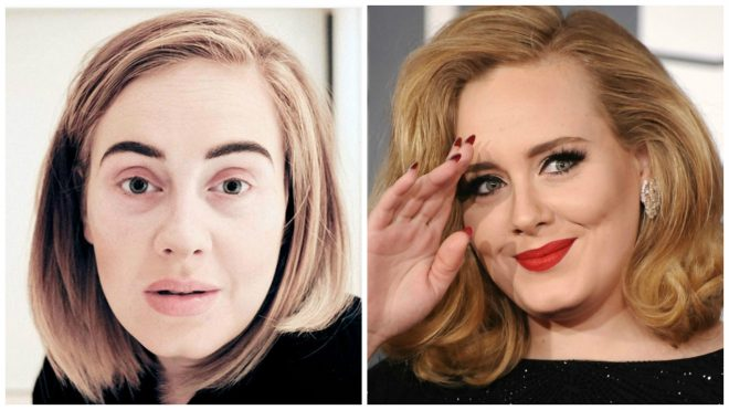 Hollywood Singers Without Make-up