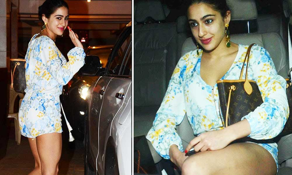 pictures of Sara Ali Khan