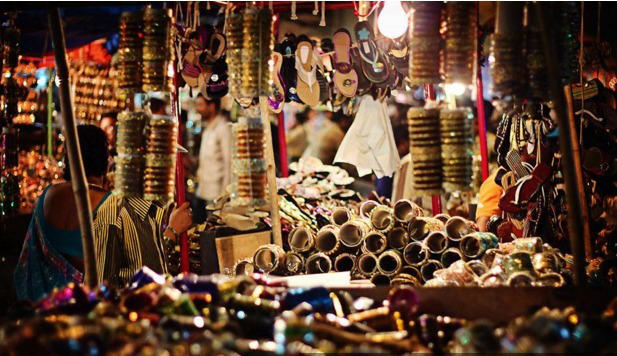 Shopping Streets In India