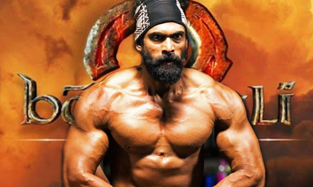 Physique Of Rana Daggubati In Baahubali