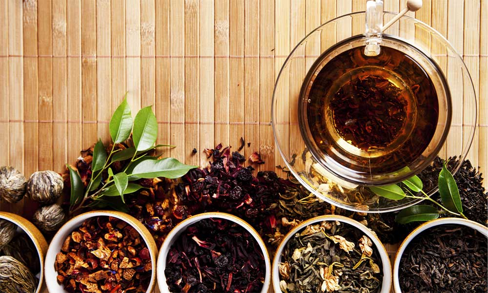 Types Of Healthy Teas