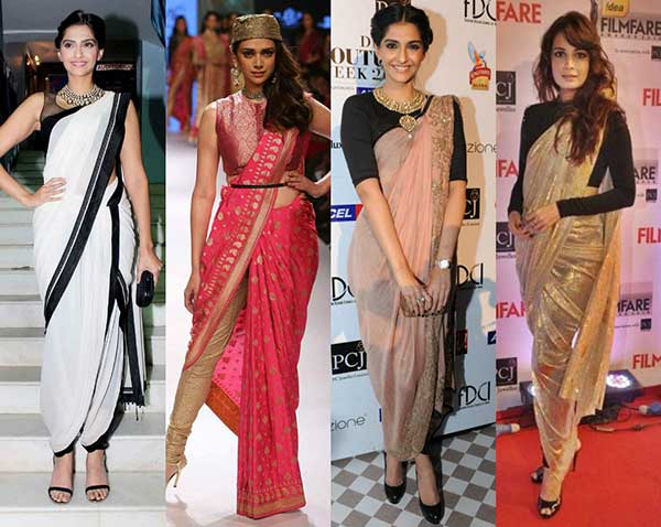 Stylish Ways To Drape Saree