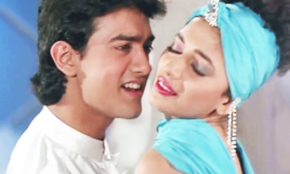 Madhuri Dixit And Aamir Khan