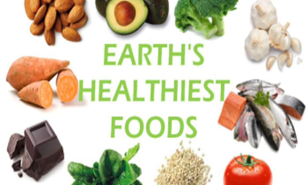 Healthiest foods on planet earth