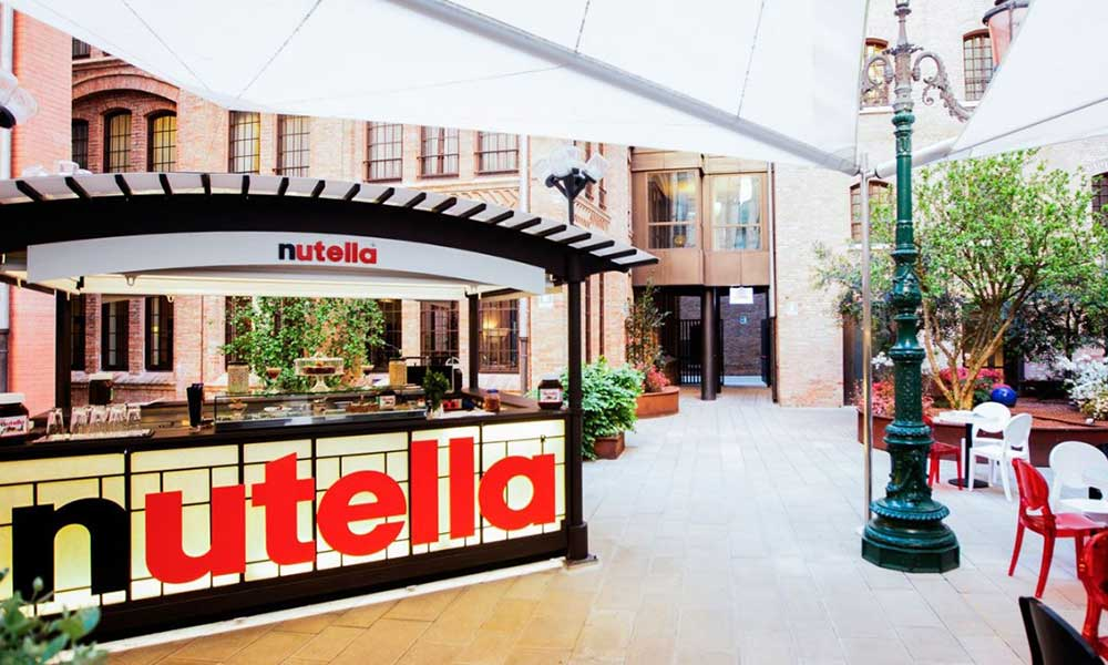 Nutella cafe