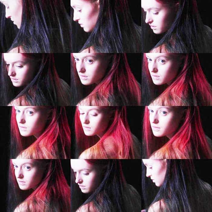 Hair Dye That Changes Color According To The Temperature