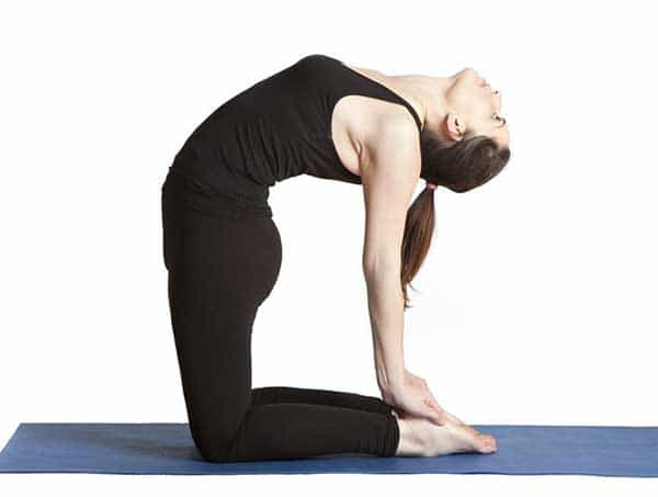 Yoga poses for growing hair