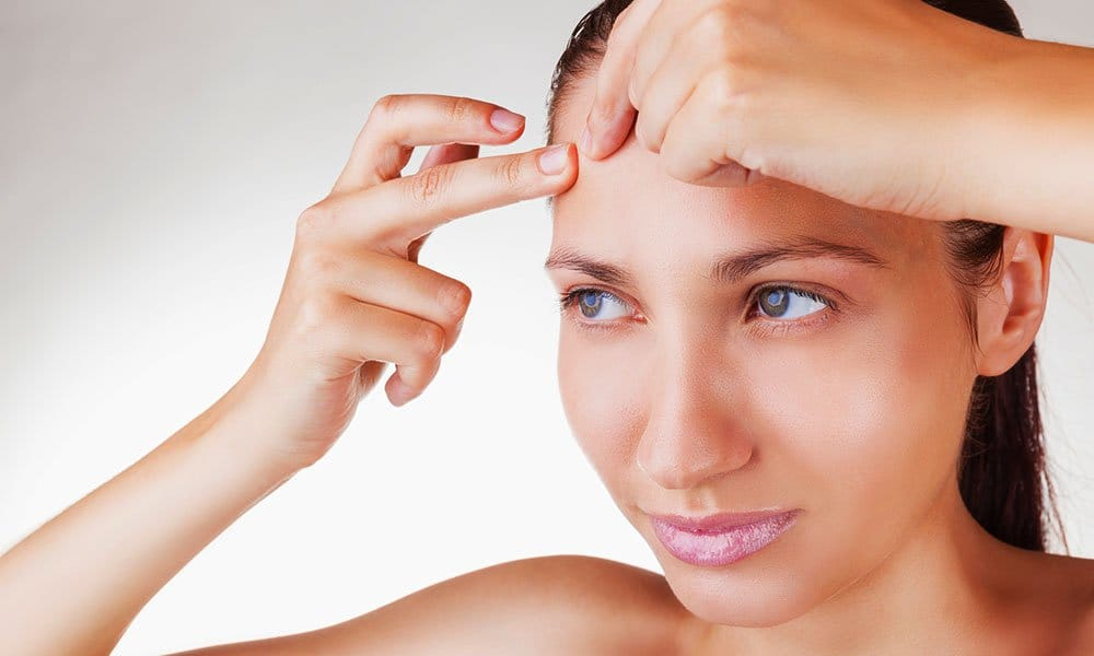 home remedies for forehead acne
