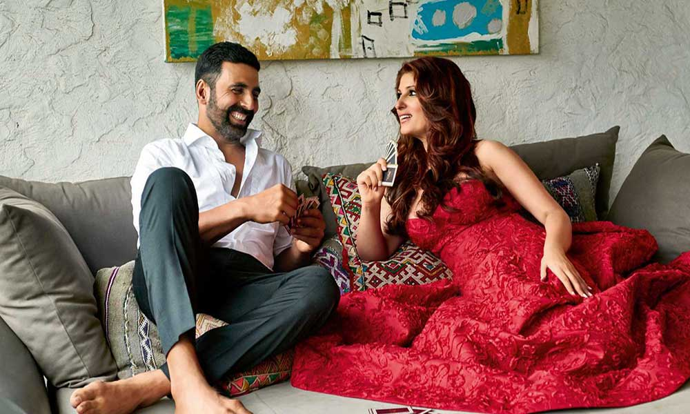 Akshay Kumar and Twinkle Khanna home