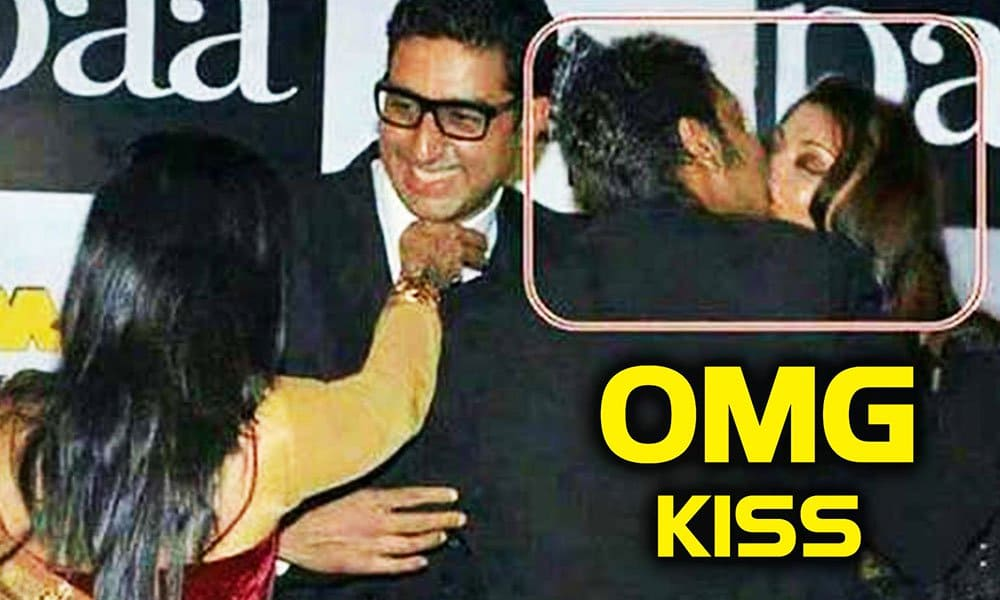 Celebs Accidentally Kissed Each Other
